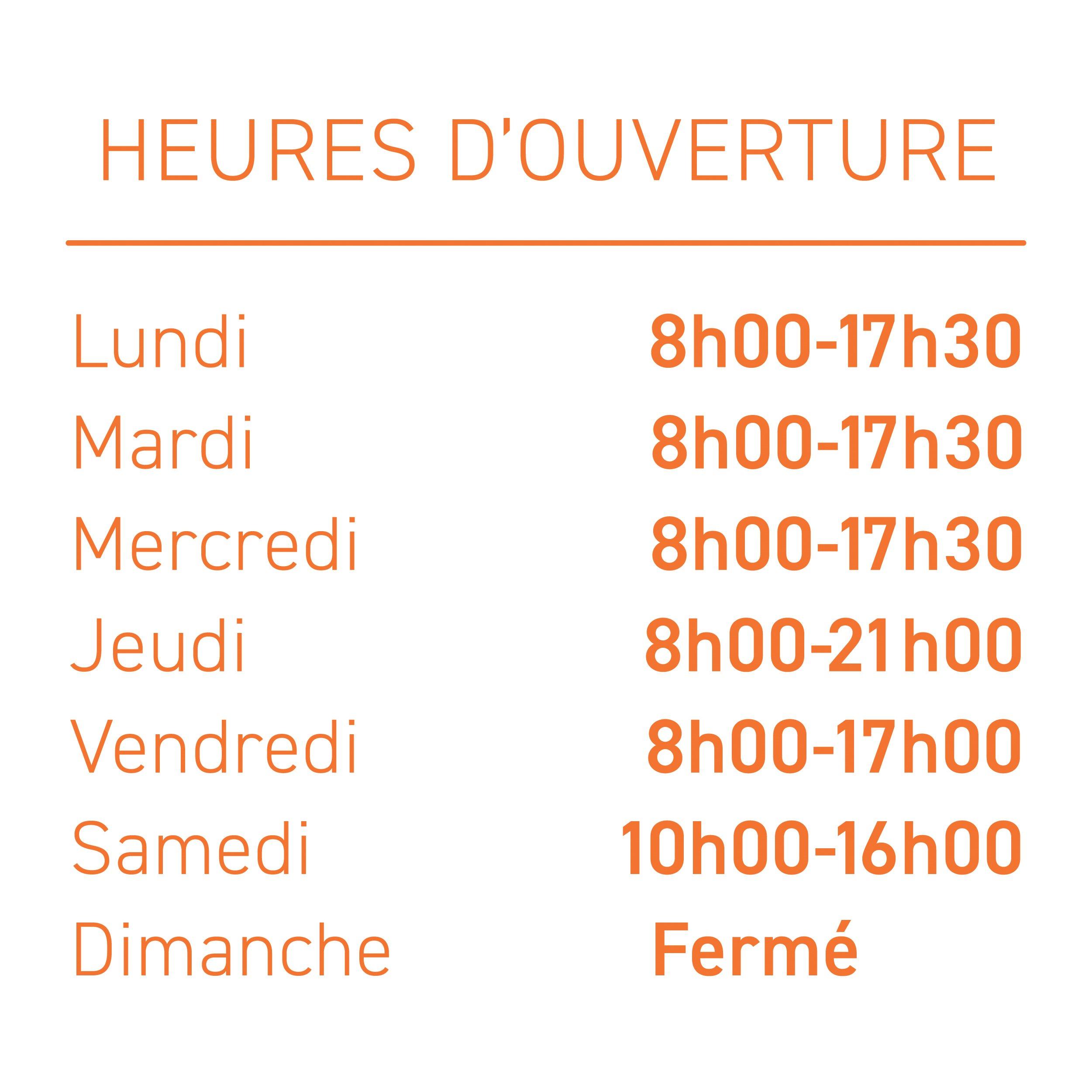 HEURES DOUVERTURE_Plan de travail 1